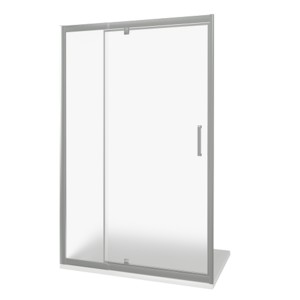 Душевая дверь GooD DooR Orion WTW-PD-140-G-CH 140x185